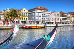 Free AVEIRO, PORTUGAL - MARCH 21, 2017: Traditional Boats In Vouga Ri Royalty Free Stock Photos - 90428218