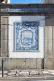 AVEIRO, PORTUGAL - 21 NOVEMBRE 2017 : bâtiments avec en céramique beaituful Images libres de droits