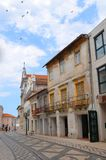 Aveiro Portugal: stads- arkitektur royaltyfria bilder