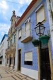 Aveiro Portugal: stads- arkitektur arkivfoton