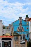 Aveiro, Portugal: stedelijke architectuur royalty-vrije stock afbeeldingen