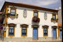 Aveiro, Portugal. Typical building view. Royalty Free Stock Photo
