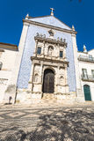 Aveiro, Portugal. Typical building view. Royalty Free Stock Images