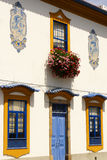 Aveiro, Portugal. Typical building view.Portugal. Stock Photography