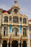 Aveiro, Portugal. Typical building view.Portugal. Royalty Free Stock Photos