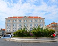 Aveiro, Portugal: urban architecture. Aveiro is known as `Portugal`s Venice royalty free stock photo