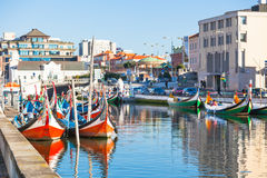 Aveiro, Portugal view Stock Image