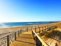 Aveiro - Praia da Barra 2016 fotografia royalty free