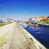 Aveiro. Ria de Aveiro Stock Photo