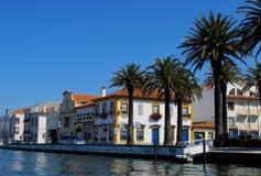 Aveiro stad, Portugal royaltyfria bilder