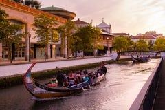 Aveiro-Touristenattraktion Lizenzfreies Stockbild