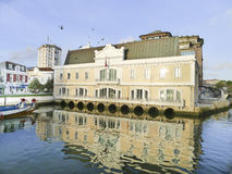 Aveiro, town of Portugal Stock Images