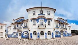 Aveiro train station Royalty Free Stock Photo