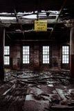 Avelã-Atlas Vidro Empresa - rodando, West Virginia Fotografia de Stock Royalty Free