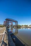 Avellaneda bridge in Buenos Aires, Argentina. Stock Photo