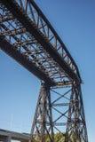 Avellaneda bridge in Buenos Aires, Argentina. Stock Photography