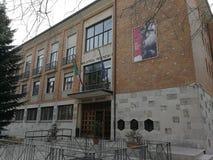 Avellino —Palazzo della Cultura royaltyfri bild