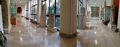 Avellino - przegląd korytarze Irpino muzeum fotografia stock