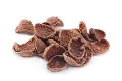 Avenas del cacao en blanco foto de archivo libre de regalías
