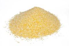 Avenas mondadas vertidas del maíz Imagen de archivo libre de regalías
