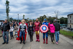 The avengers Royalty Free Stock Photography