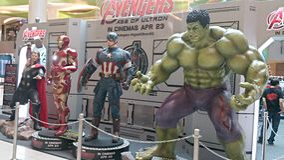 The Avengers Stock Photo