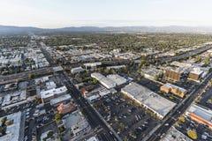 Avenida aérea de Los Angeles Reseda na autoestrada 101 Fotos de Stock