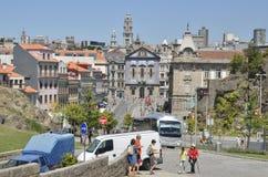 Avenida Afonso Henriques Imagem de Stock