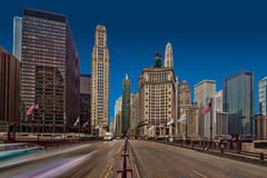 AVENIDA CHICAGO DE MICHIGAN Imagem de Stock Royalty Free