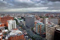Avenida Chile, Bogota Zdjęcia Stock