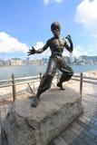 A avenida das estrelas em Hong Kong Foto de Stock Royalty Free