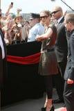 Avenida das estrelas Krakow RMF FM Imagens de Stock Royalty Free