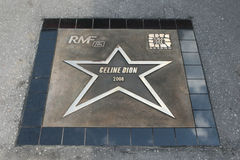 Avenida das estrelas Krakow RMF FM Fotos de Stock Royalty Free