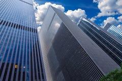 Avenida de Americas 6o avoirdupois Manhattan New York Foto de Stock Royalty Free