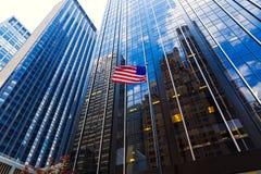 Avenida de Americas 6o avoirdupois Manhattan New York Imagens de Stock Royalty Free