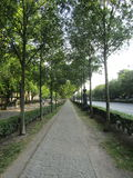 Avenida de Andrassy, Budapest Imagen de archivo