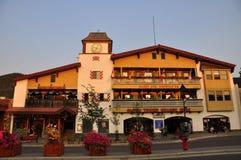 Avenida de Banff Fotos de archivo