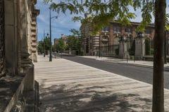 Avenida de Champagne Epernay France imagens de stock