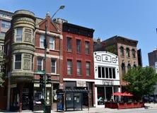 Avenida de Chicago imágenes de archivo libres de regalías