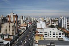 Avenida de Domingos de Morais Imágenes de archivo libres de regalías