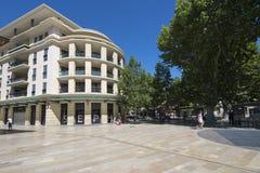 Avenida de Giuseppe Verdi, Aix-en-Provence, França Fotos de Stock
