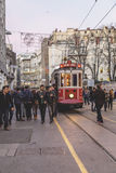 Avenida de Istiklal, Estambul Foto de archivo