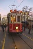Avenida de Istiklal, Estambul Imagen de archivo libre de regalías
