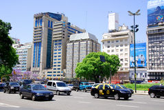 Avenida 9 de Julio Royalty Free Stock Image
