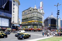 Avenida 9 de Julio Stock Photo