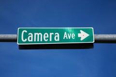 Avenida de la cámara   Imagen de archivo