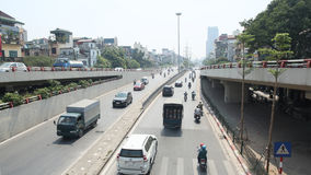 Avenida de la carretera en Hanoi Fotos de archivo
