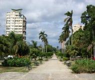 Avenida de los Presidentes, Avana Immagine Stock