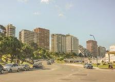 Avenida de Mar del Plata Imágenes de archivo libres de regalías