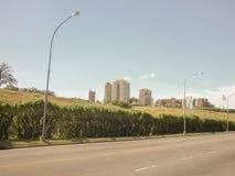 Avenida de Mar del Plata Imagenes de archivo